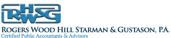 ROGERS WOOD HILL STARMAN & GUSTASON - CERTIFIED PUBLIC ACCOUNTANTS & ADVISORS